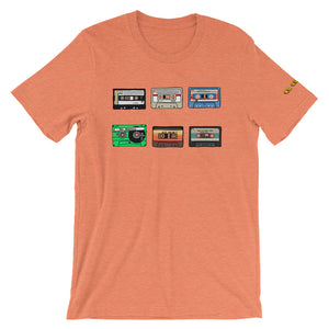 6 Cassette Tapes Unisex T-Shirt