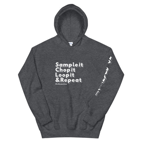 """Sample It, Chop It, Loop it,  & Repeat"" Unisex Hoodie"