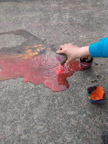 don't cry over spilled paint