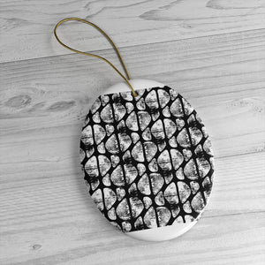 Black and White Abstract Ornament