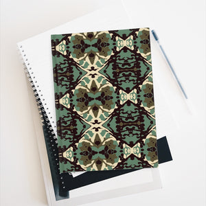 Damask and Receive Journal – Brown/Sage
