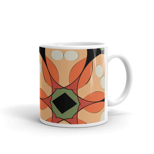 Tropical Floral Coffee Mug