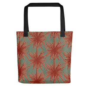 Flower Power Tote Bag – Coral
