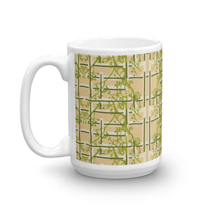 Tea Garden Floral Coffee Mug
