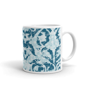 Damask and Receive Coffee Mug