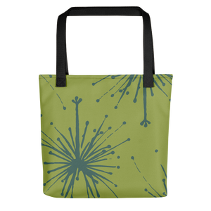 Flower Power Tote Bag – Teal