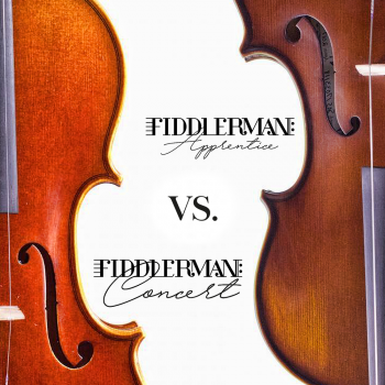 Instrument Spotlight: Fiddlerman Apprentice vs. Fiddlerman Concert Violin