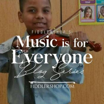 Fiddlershop's Music is for Everyone Blog Series: Tyler Butler-Figueroa, Violinist