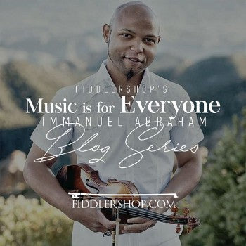 Fiddlershop's Music is for Everyone Blog Series: Immanuel Abraham, Violinist