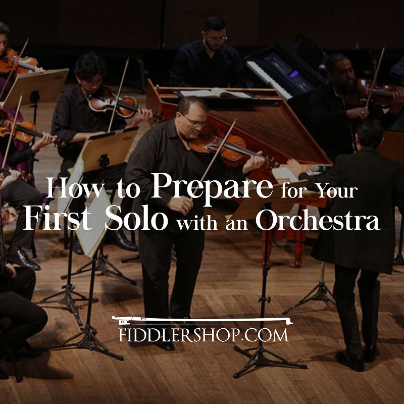How to Prepare for Your First Solo with an Orchestra