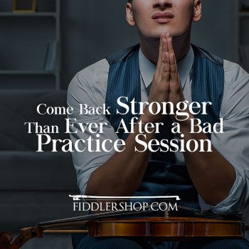 Come Back Stronger Than Ever After a Bad Practice Session