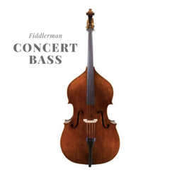 Instrument Spotlight: Fiddlerman Concert Double Bass