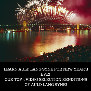 Fiddlershop's 5 Favorite Auld Lang Syne Videos - Happy New Year 2018!