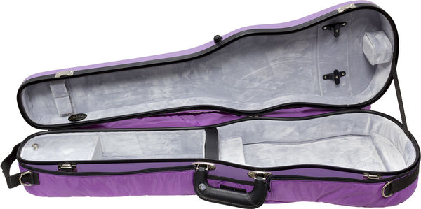 Bobelock Fiberglass Shaped Suspension Violin Case