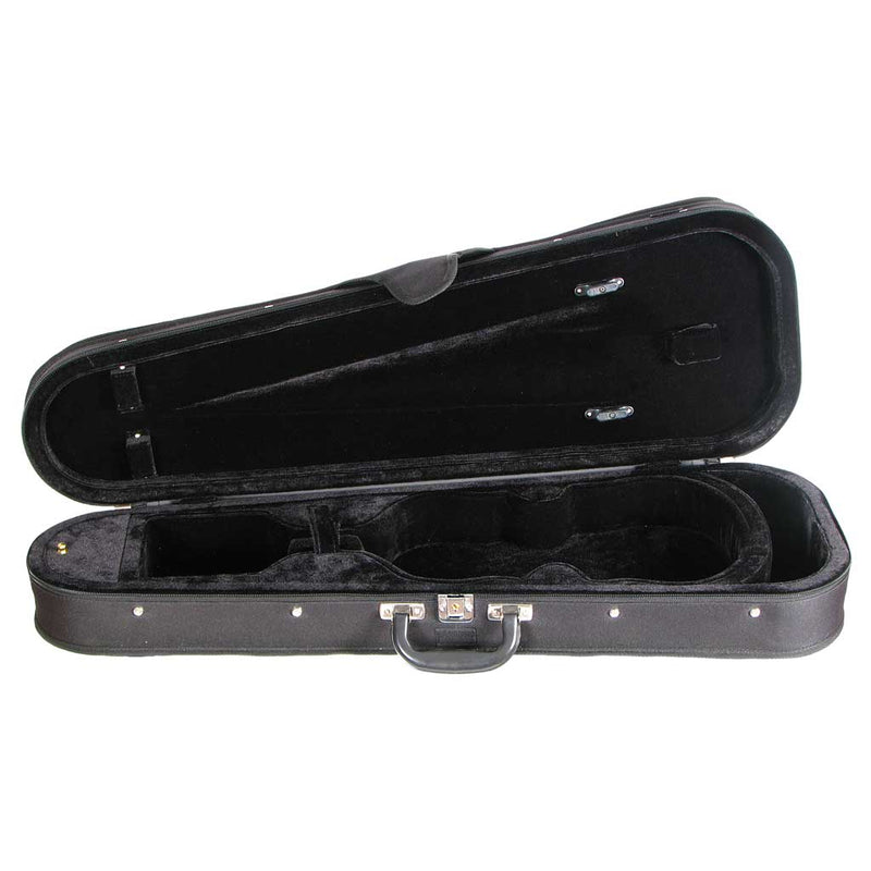 Core Shaped Wood Shell Violin Case CC399