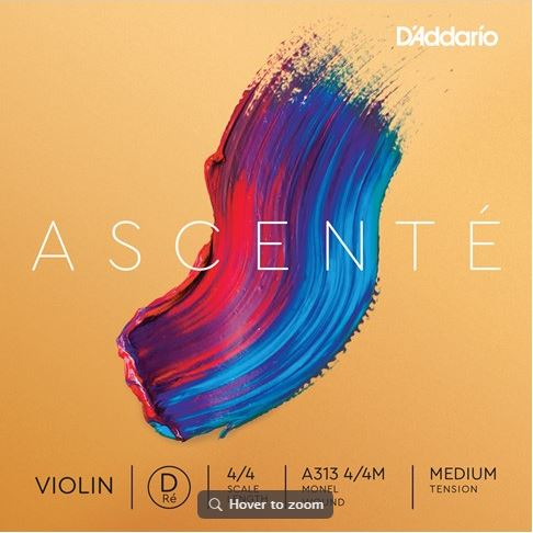 Ascenté Violin String - D