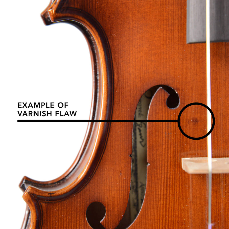 B-Stock Fiddlerman Apprentice Violin Outfit