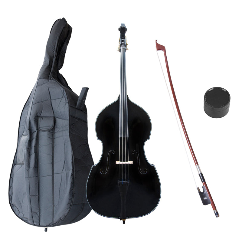 Cecilio Double Bass Outfit Black