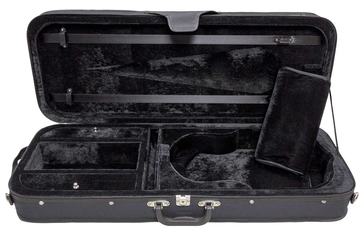 Core Oblong Wood Shell Adjustable Viola Case CC399