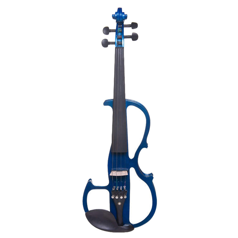 Cecilio Solidwood Ebony Electric Violin CEVN-2 Outfit