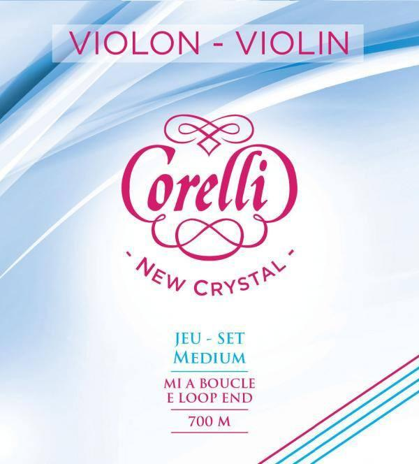 Corelli Crystal Violin - D  String Wound Alloy On Stabilon