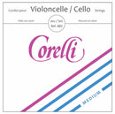 Corelli Crystal Cello D String Double Alloy Wound On Steel