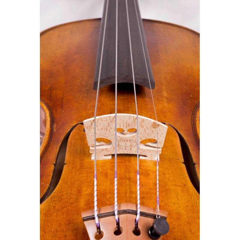 Synthetic Core w//Ball-End for 1//2 Size Violin Fiddlerman Violin String Set