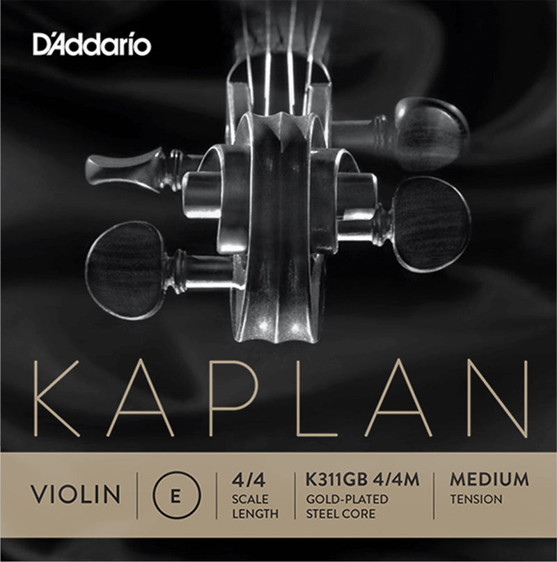 D'Addario Kaplan Gold Plated Violin E String