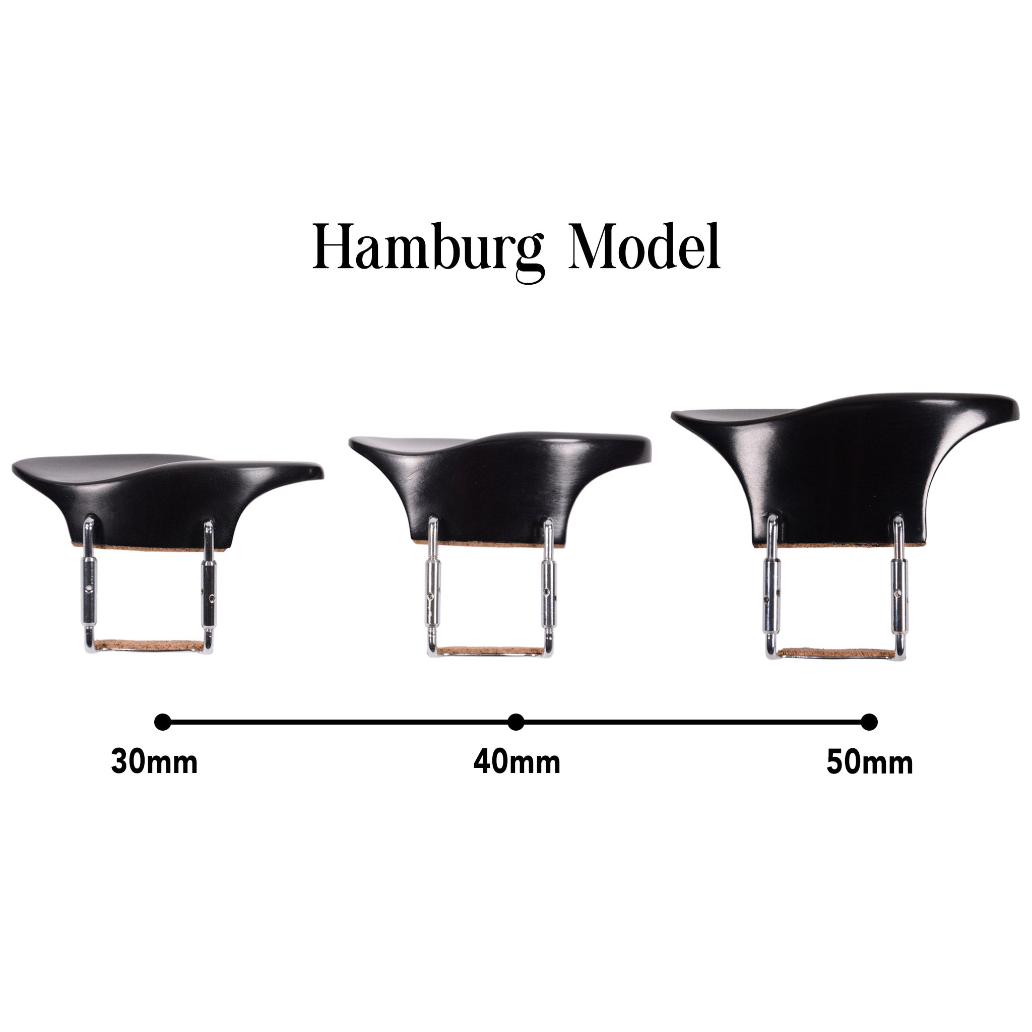 Extra Tall Violin Chinrest - Hamburg Model