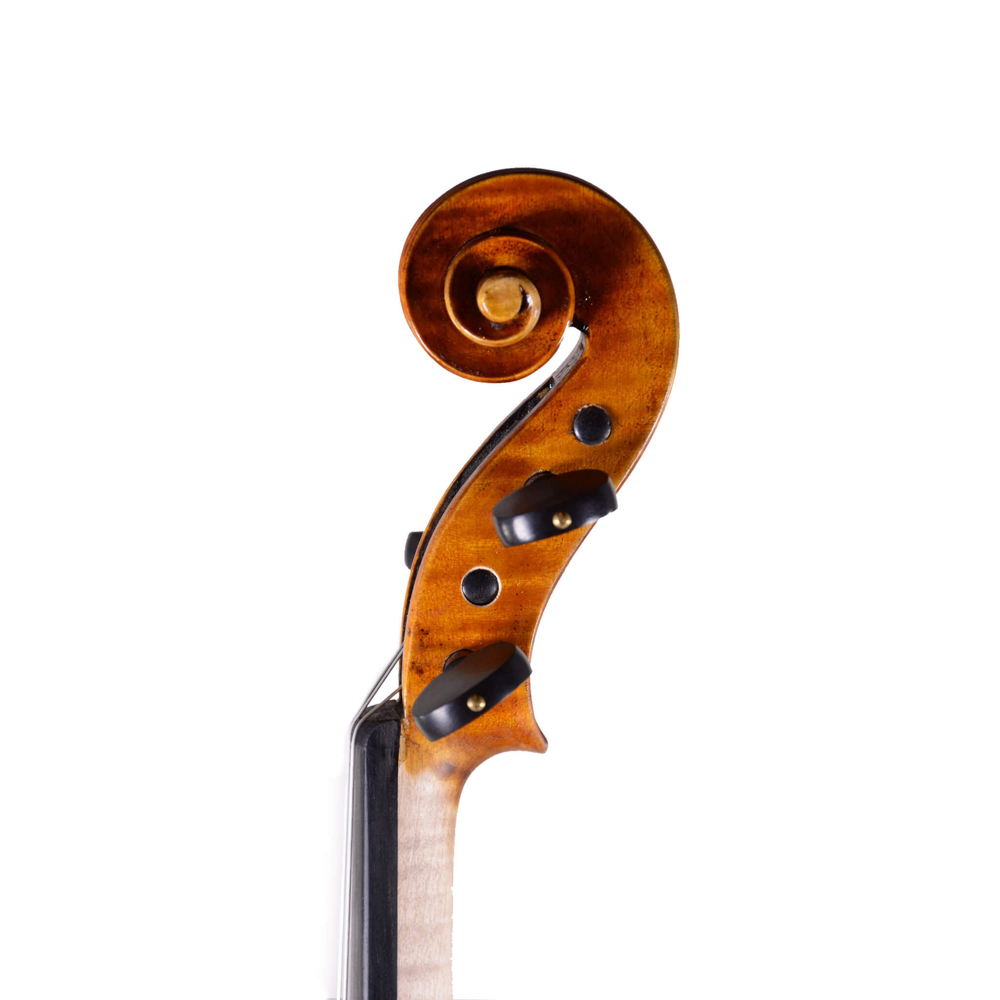 Fiddlerman Left Handed Violin Scroll Right