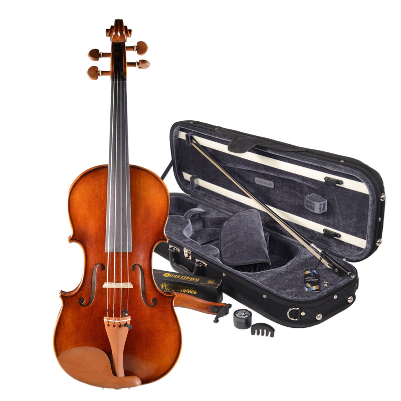 B-Stock Fiddlerman Concert Deluxe Violin Outfit
