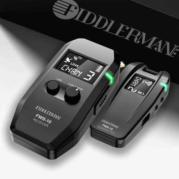Fiddlerman Wireless Violin Transmitter and Receiver System FWS-10