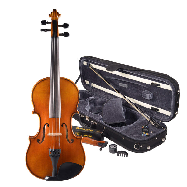 Fiddlerman Left Handed Concert Violin Outfit