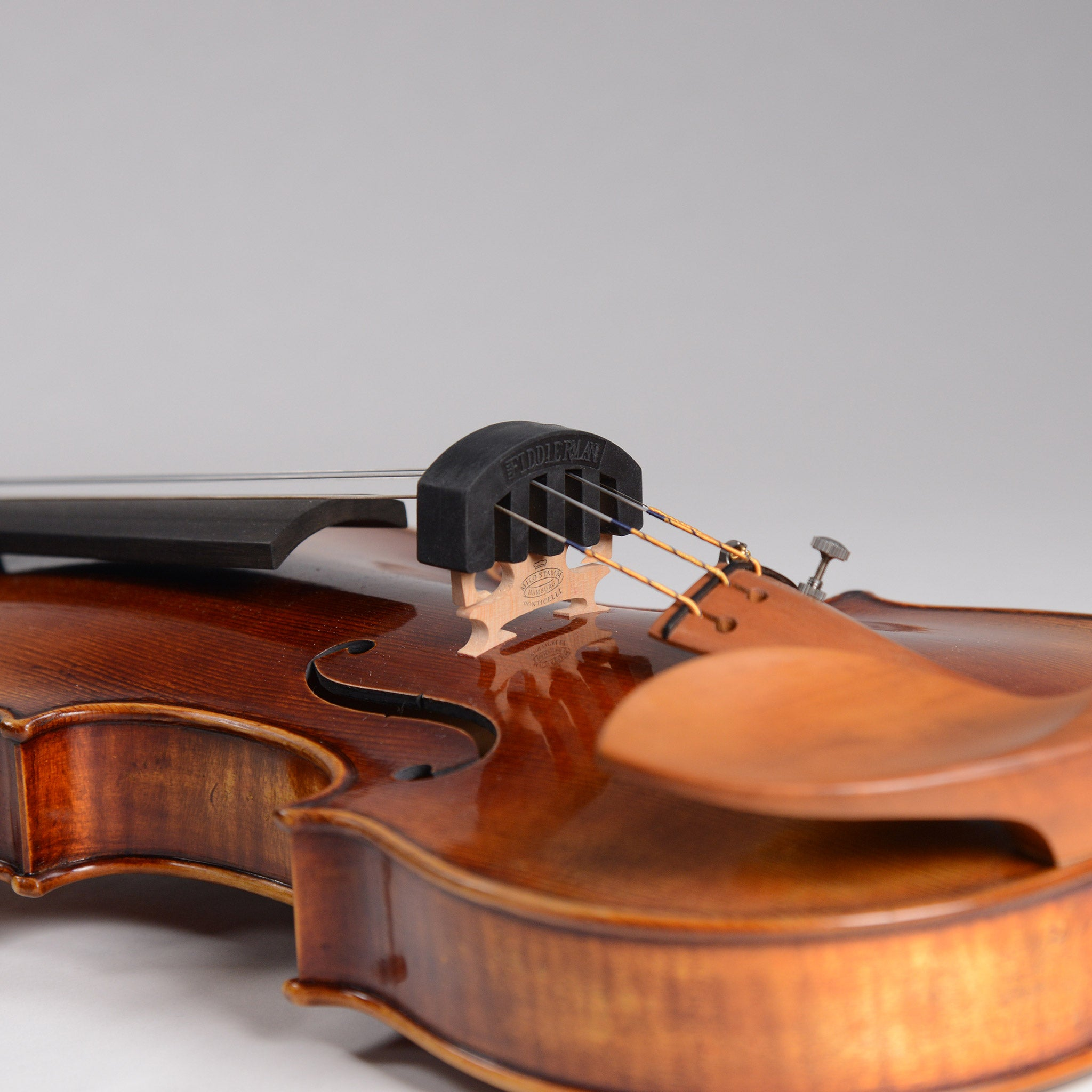 HeavenSense Rubber 4//4 Violin Mute Practice Mute Fiddle Silencer with 5 Prongs