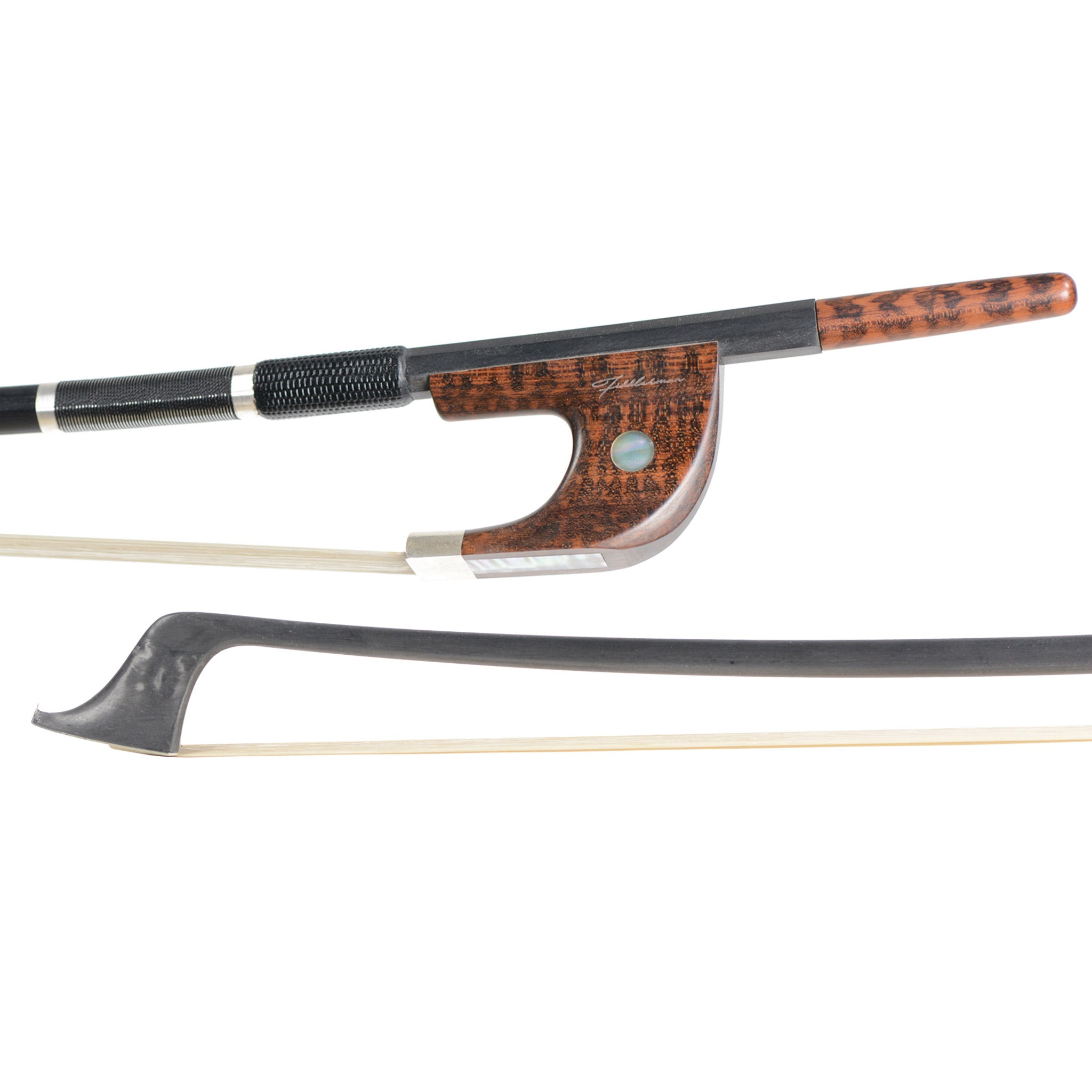 Fiddlerman Pro Series German Style Double Bass Bow