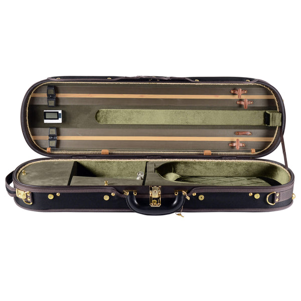 Fiddlerman Quality Oblong Violin Case FC100