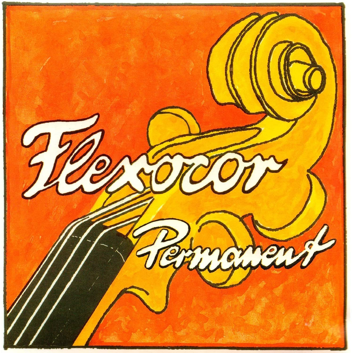 Flexocor Perm Violin A String Rope/Alum