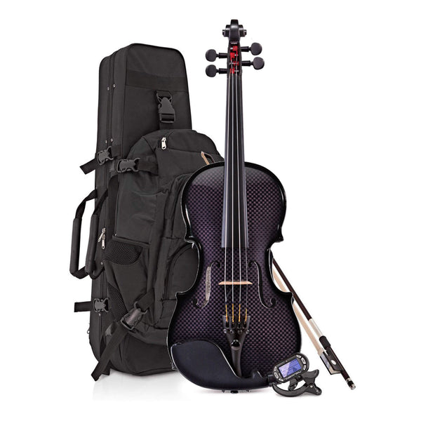 Glasser Carbon Composite Acoustic-Electric Violin