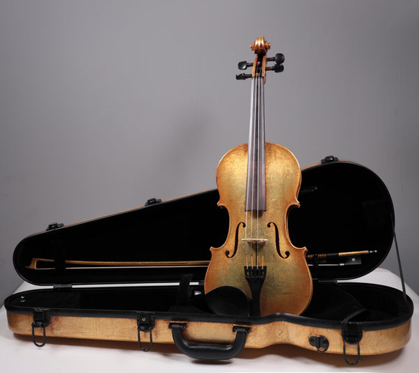 "Fiddlershop Gold Violin ""ex-Devil"" Outfit"