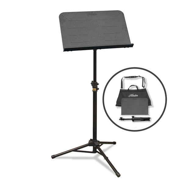 Hamilton Traveler II Portable Music Stand with Bag