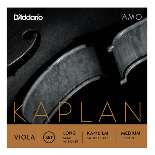 D'Addario Kaplan Amo Viola String Set Long Scale