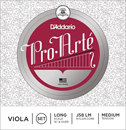 D'Addario Pro-Arte Viola Single A String