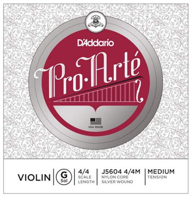 D'Addario Pro-Arte Violin Single G String