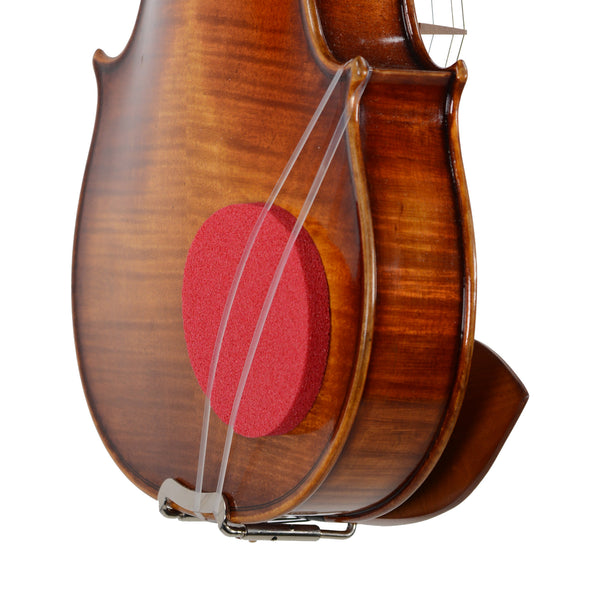 Red Round Sponge Shoulder Rest