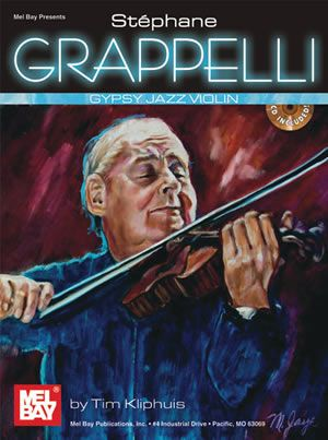 Stephane Grappelli Gypsy Jazz Violin (Book/CD Set)