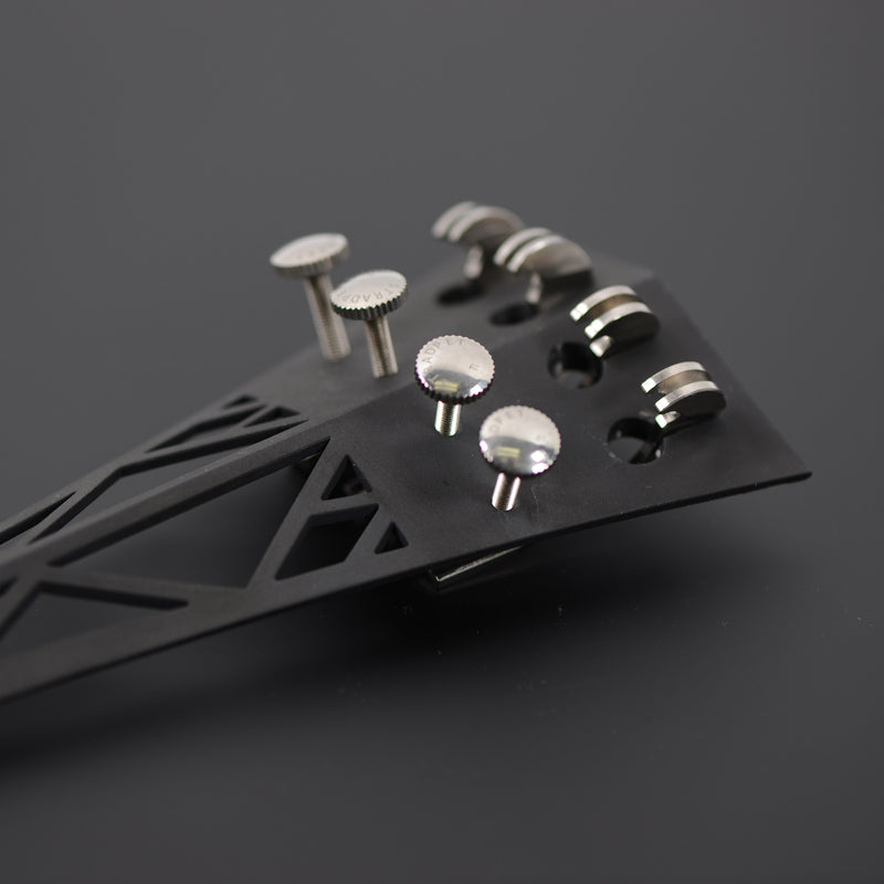 Stradpet Titanium Cello Tailpiece with Fine Tuners