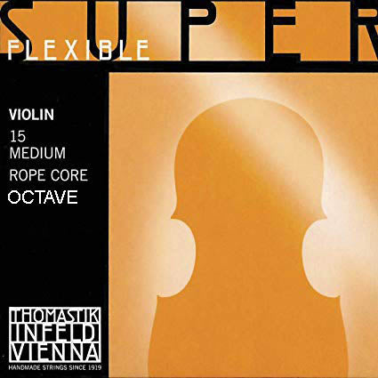 Thomastik-Infeld Superflexible Ropecore Octave Violin Strings Set