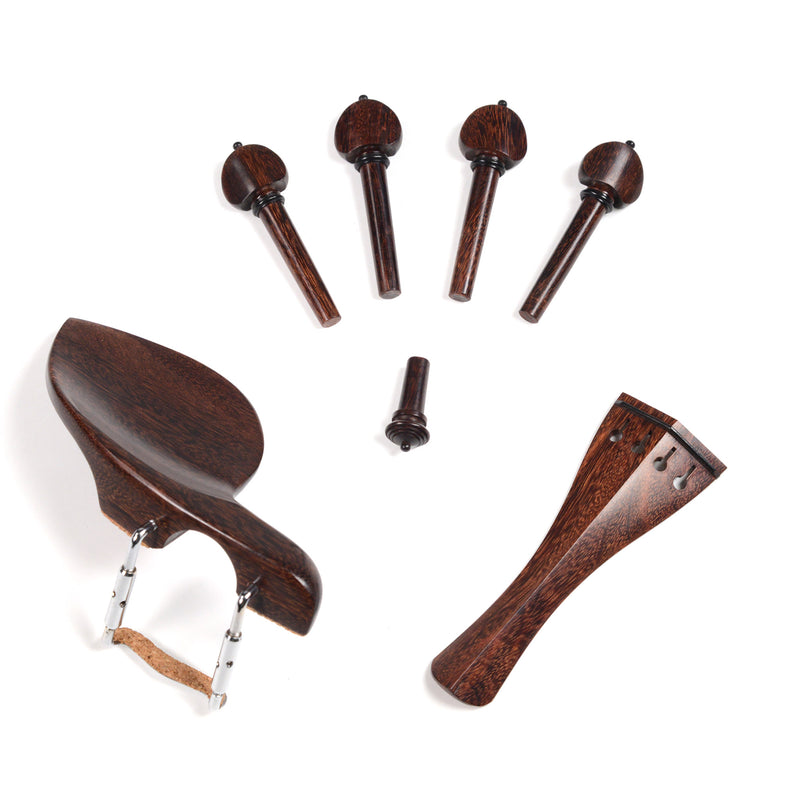 Supreme Tamarind Violin Fittings Set