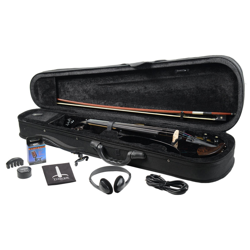 B-Stock Tower Strings Electric Pro Violin Outfit