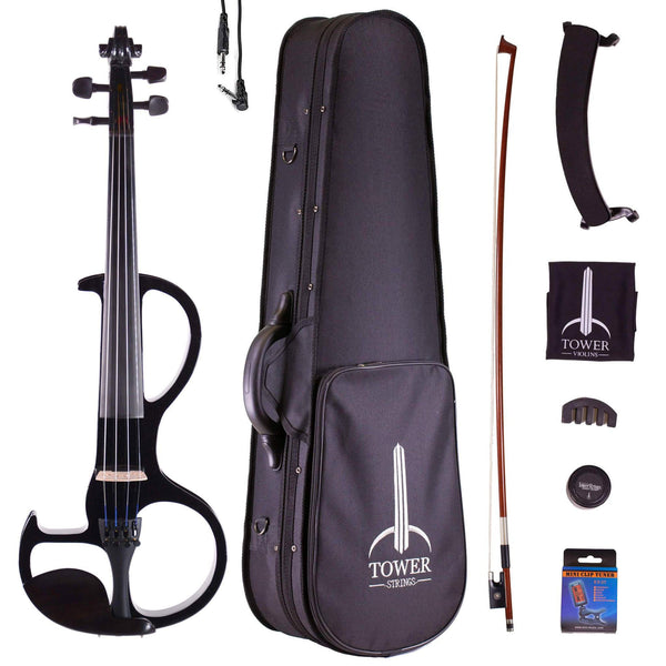 B-Stock Tower Strings Electric Violin Outfit